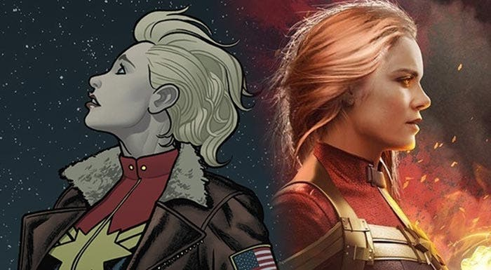El origen de Capitana Marvel en Marvel Studios