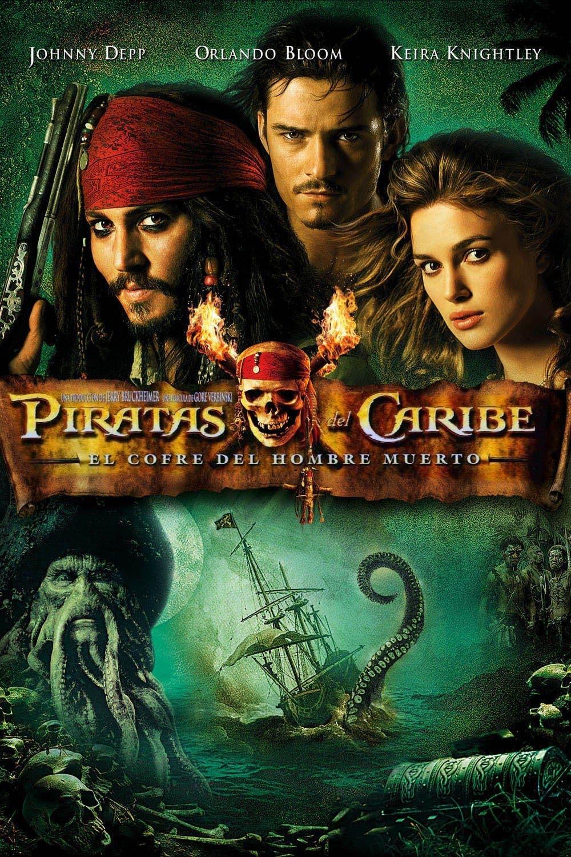 Poster de 'Piratas del Caribe: El cofre del hombre muerto'
