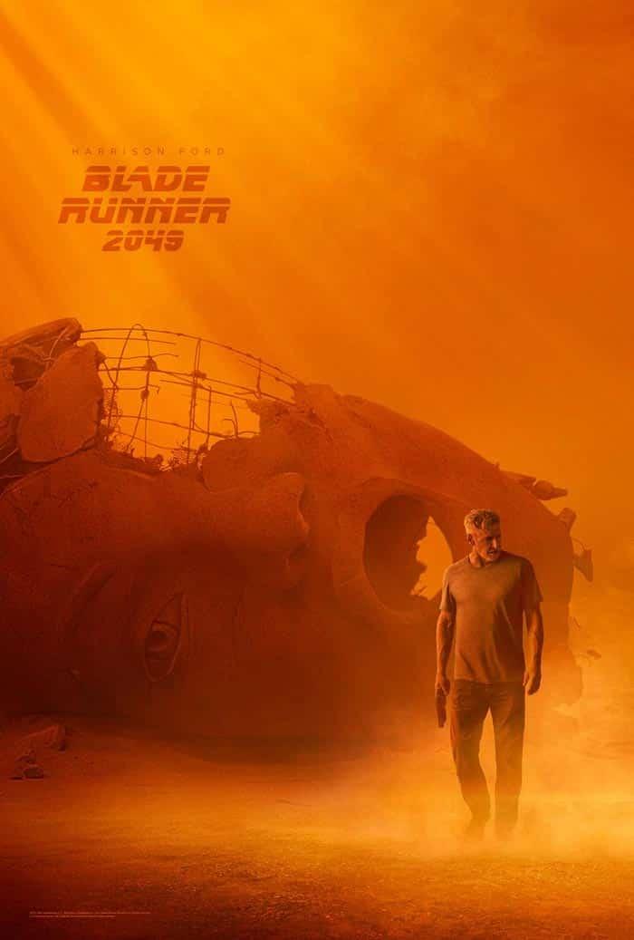 Póster de 'Blade Runner 2049' con Harrison Ford