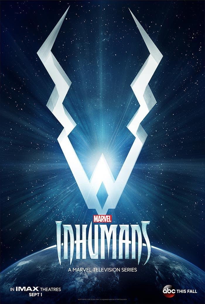Rayo Negro gobierna el mundo en el primer póster oficial de 'Inhumanos'