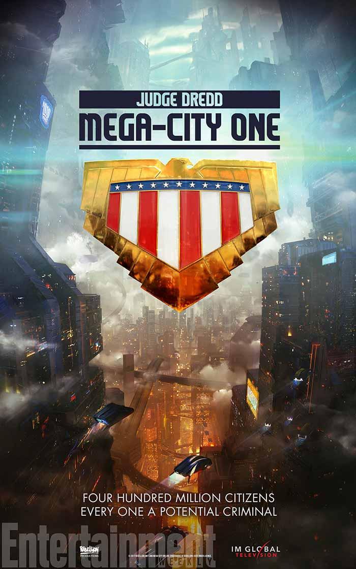 La serie 'Judge Dredd: Mega-City One' se hace oficial y estrena póster