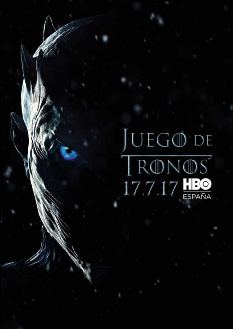 Espectacular póster de la séptima temporada de 'Juego de Tronos' (HBO)