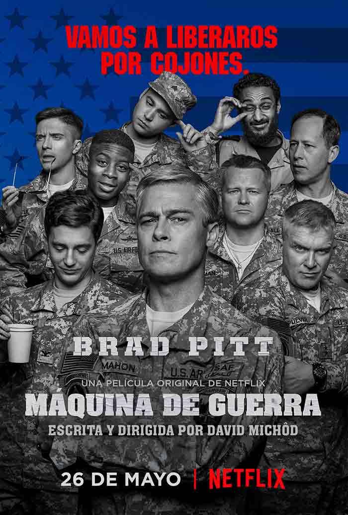 Tráiler de 'Máquina de Guerra': Película de Netflix con Brad Pitt
