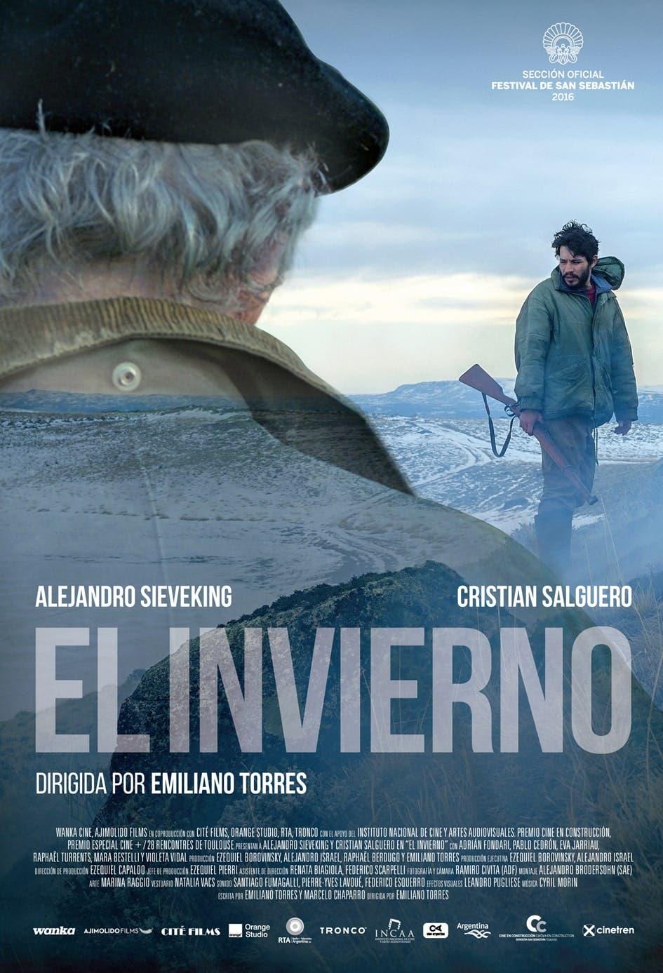 Poster de 'El invierno'