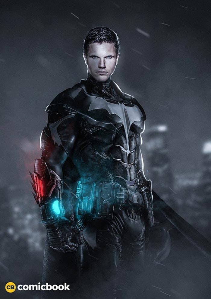 Así sería el Batman de Robbie Amell en una película de 'Arrow'