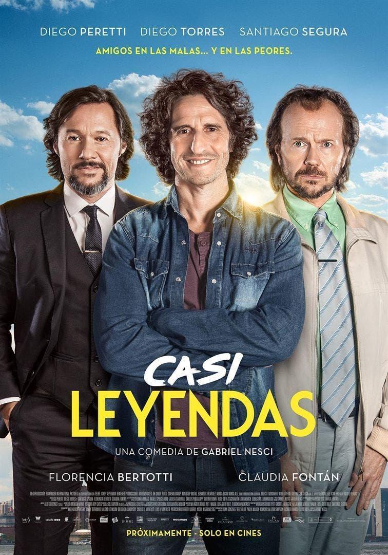 Poster de 'Casi leyendas'