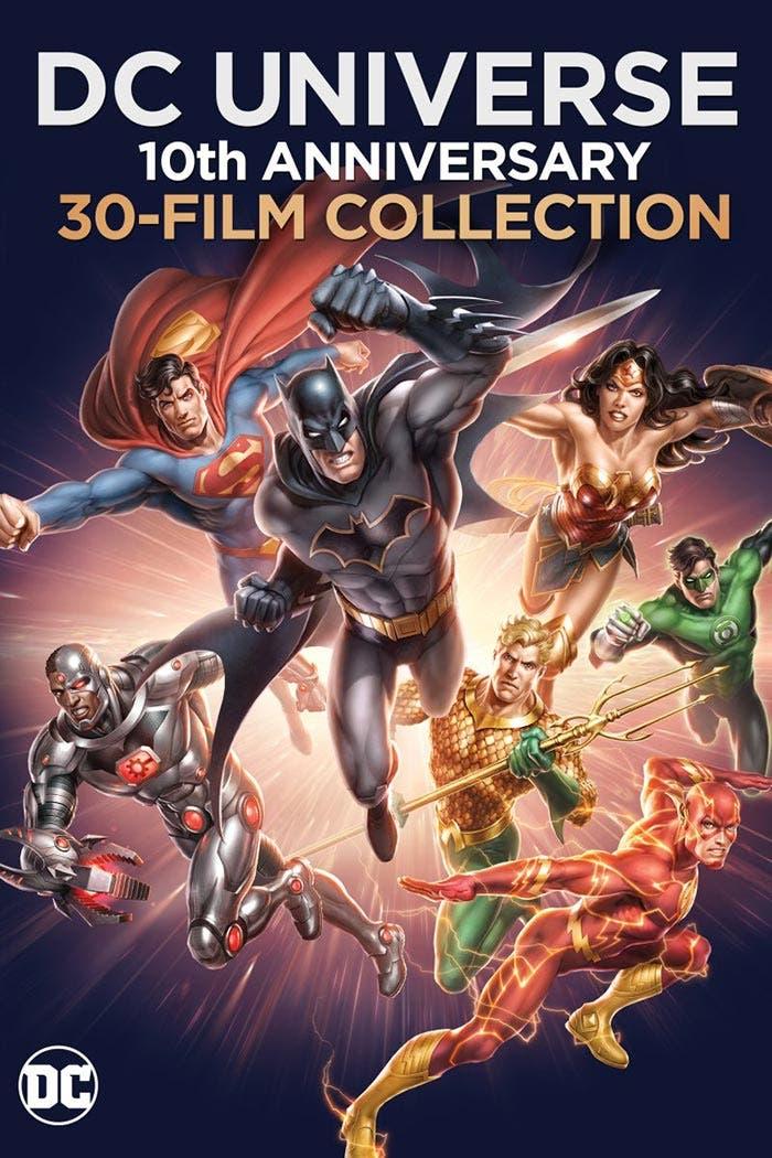 Warner saca un Blu-ray con 30 películas de animación de DC Comics