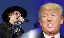 Johnny Depp vs Trump