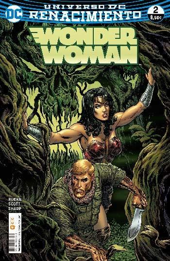 Portada Wonder Woman Renacimiento 2