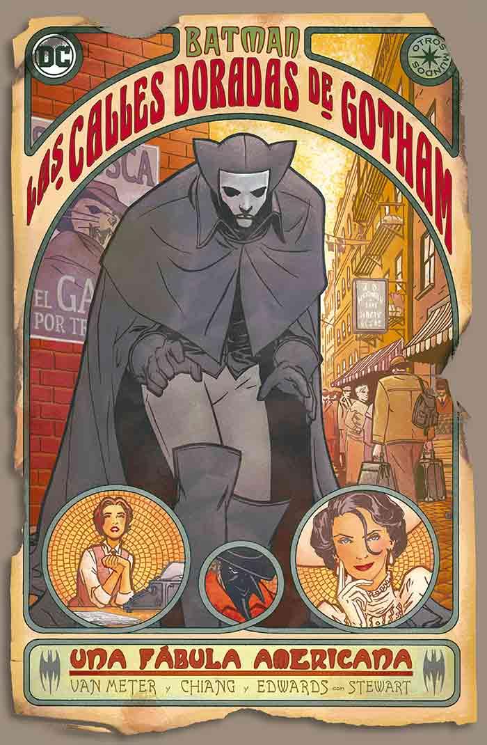 Batman: Las calles doradas de Gotham (DC Comics)