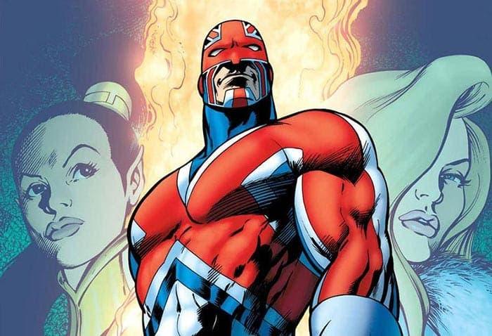 Capitán Britania en Marvel Studios Guy Ritchie