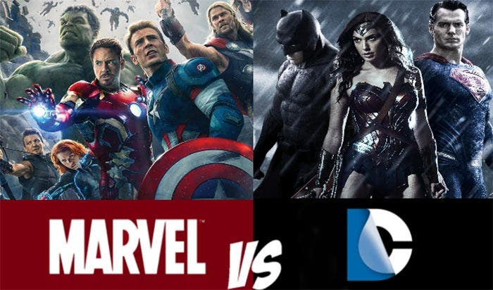 Marvel y DC Comics