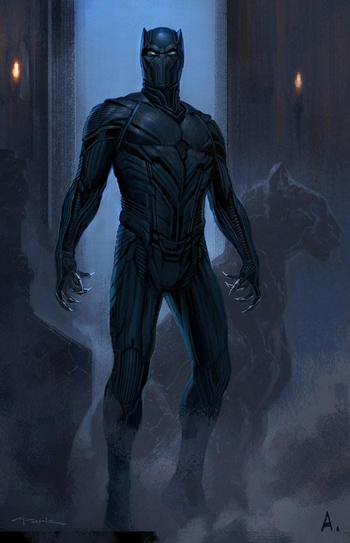 Diseño alternativo de Black Panther en el MCU