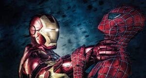 Iron Man vs Spider-Man en 'Spider-Man: Homecoming'