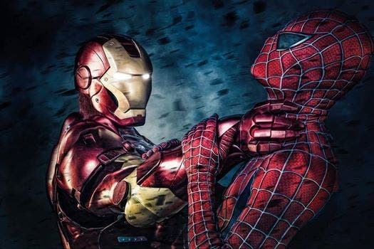 Iron Man vs Spider-Man en 'Spider-Man: Homecoming'