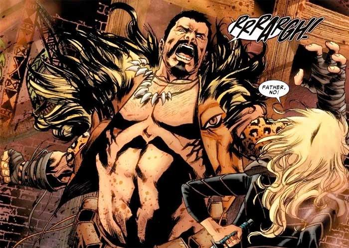 Kraven el Cazador iba a ser el villano de Black Panther (Pantera Negra), pero Marvel no lo permitió