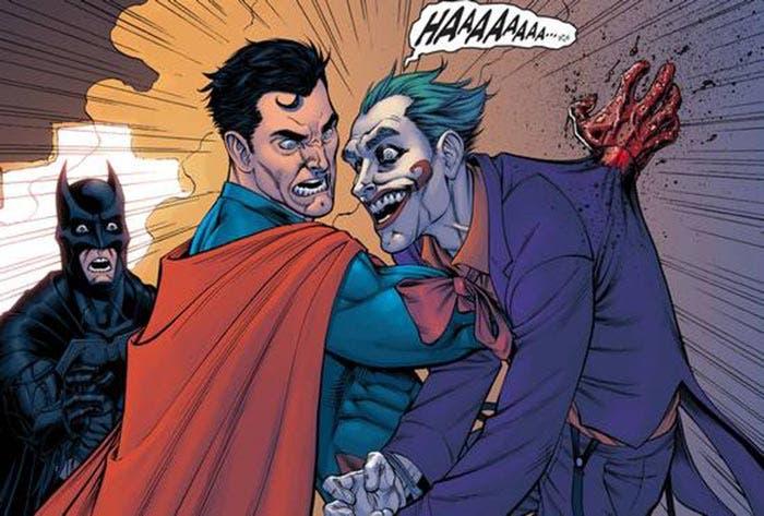 La muerte del Joker en 'Injustice'