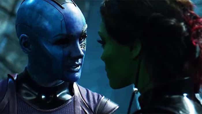 Nébula - Vengadores: Infinity War