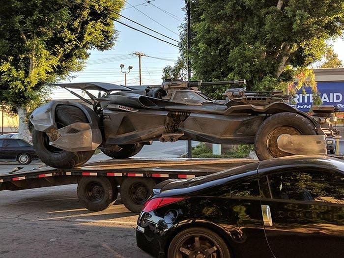 Nuevo Batmóvil en la Liga de la Justicia
