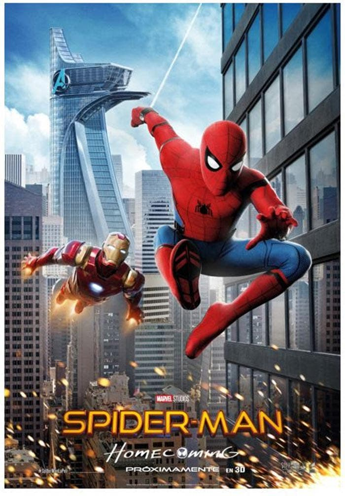 Póster de Spider-Man: Homecoming exclusivo para España
