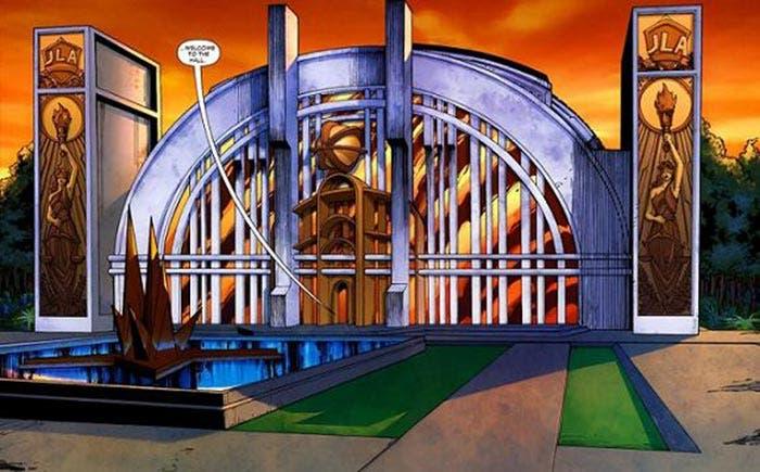 Salón de la Justicia (DC Comics)