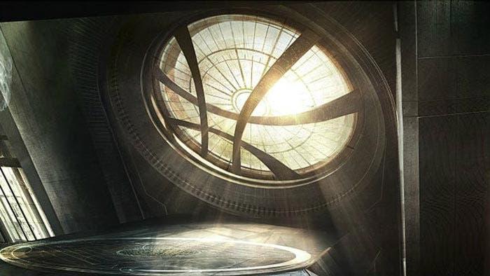 Sancta Sanctorum de Doctor Strange - Vengadores: Infinity War