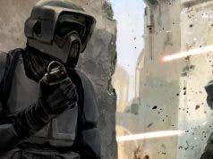 Scout Trooper en 'Han Solo' (Star Wars)