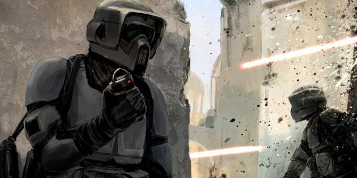 Scout Trooper en 'Han Solo' (Star Wars)