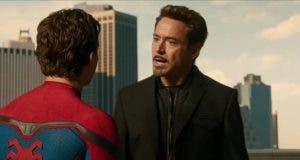 Robert Downey Jr. se burla de la relación entre Spider-Man y Iron Man