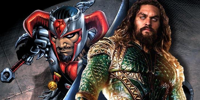 spoiler de Aquaman en la Liga de la Justicia