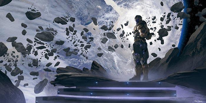 Thanos - Vengadores: Infinity War