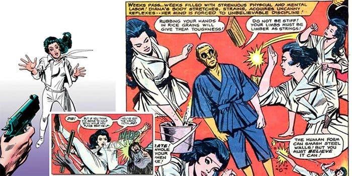 Wonder Woman: Kung Fu