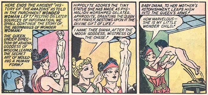 Wonder Woman: origen de arcilla