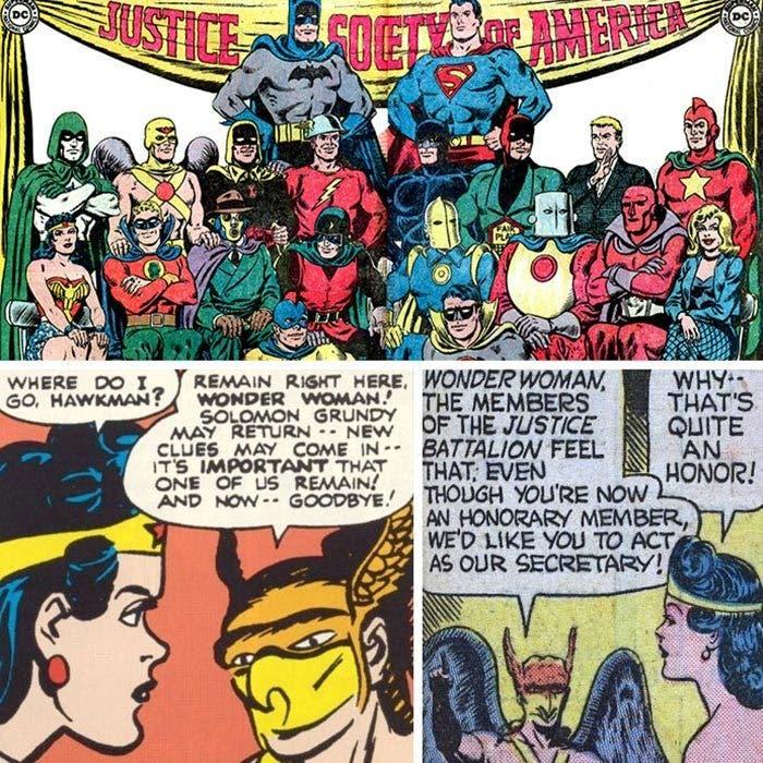 Wonder Woman: Secretaria
