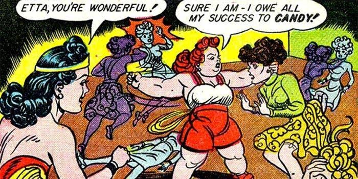 Wonder Woman: sidekick