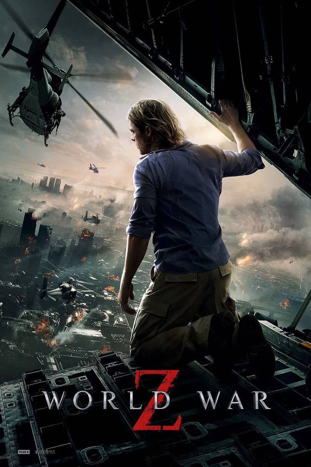 Poster for the movie Guerra Mundial Z
