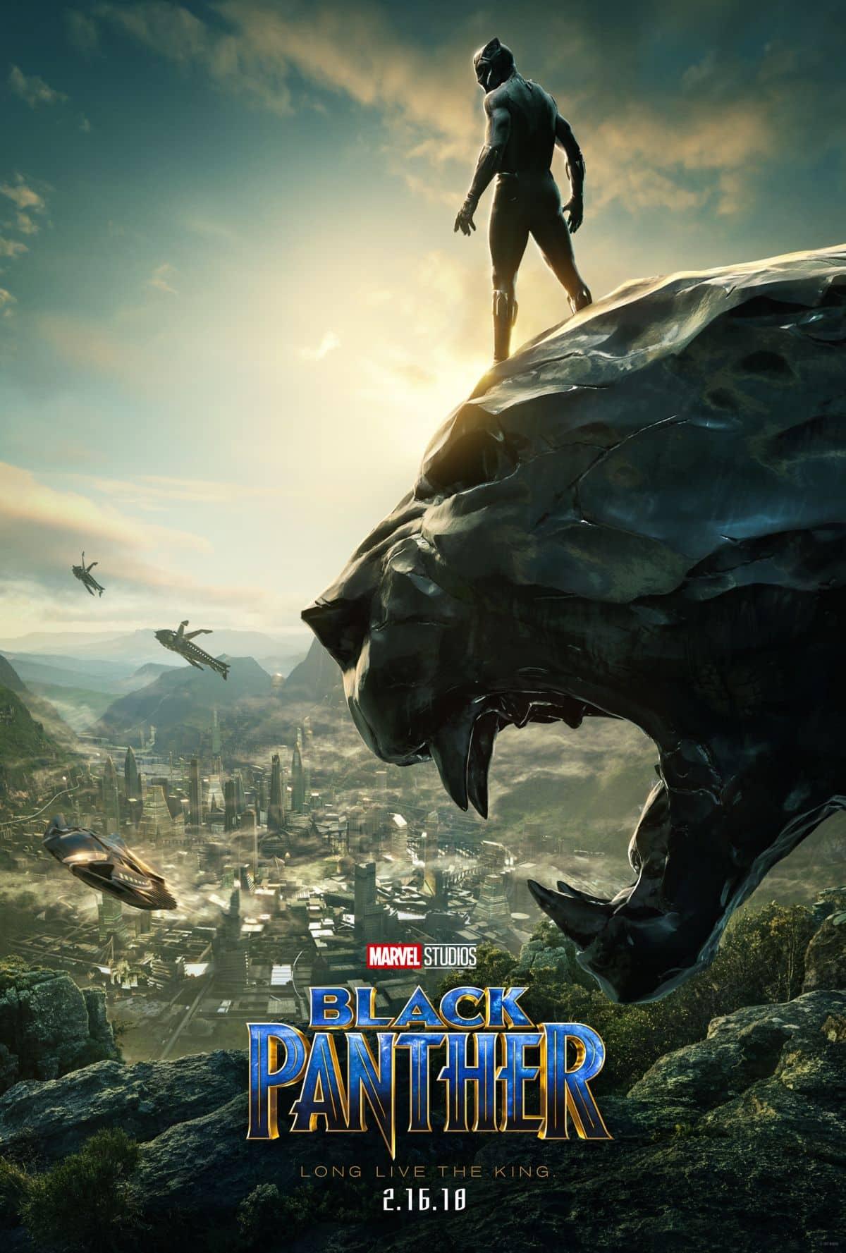 SDCC poster de Black Panther