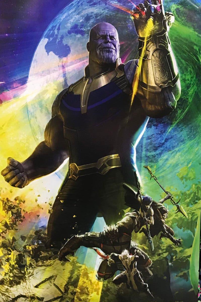 Thanos junto a la orden negra