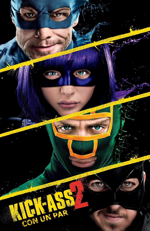 """Poster for the movie """"Kick-Ass 2: Con un par"""""""