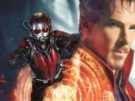 Ant-Man y Doctor Strange en Vengadores: Infinity War