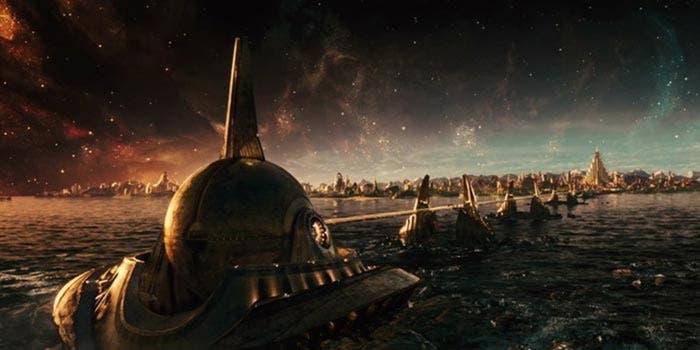 Asgard en Vengadores: Infinity War