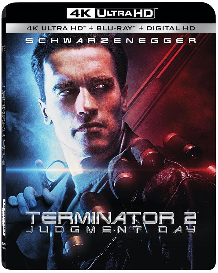 Blu-Ray en Ultra HD 4K de Terminator 2: El Juicio Final