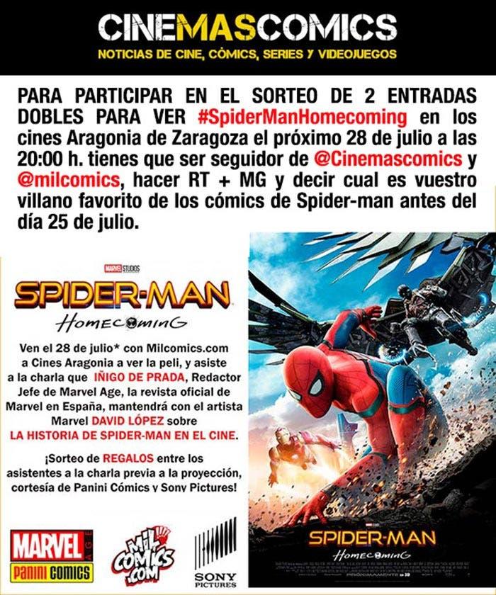Concurso de Spider-Man: Homecoming