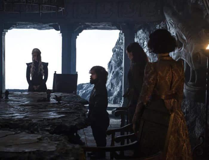 Daenerys en 7x02 de Juego de Tronos