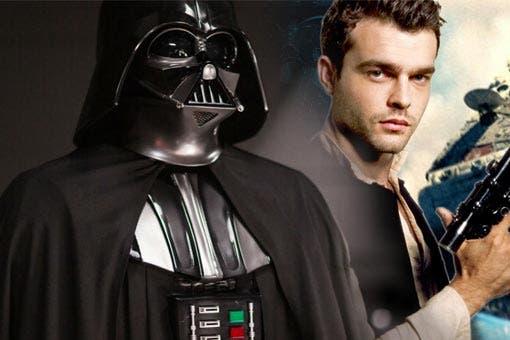 Darth Vader en Han Solo