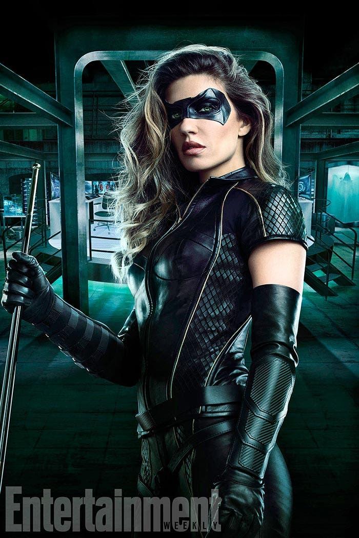 Dinah Drake como Black Canary - Temporada 6 'Arrow'