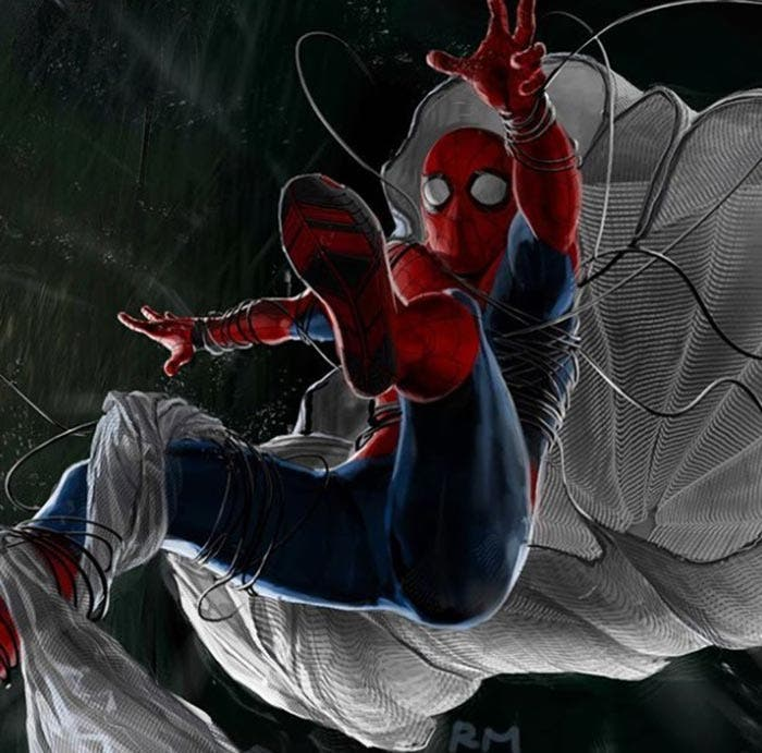 Diseño alternativo de Spider-Man en Spider-Man: Homecoming