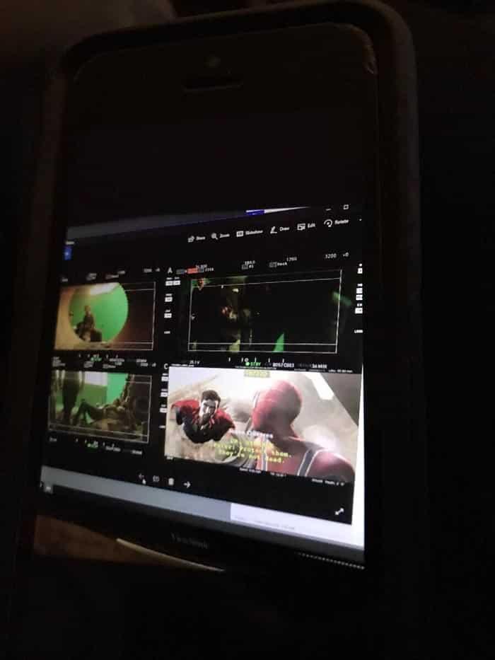 Escena Spider-Man y Doctor Strange en Vengadores: Infinity War