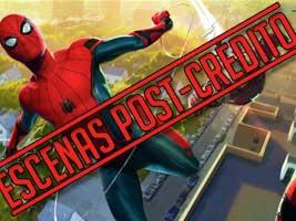 Escena post-crédito spider-man: homecoming
