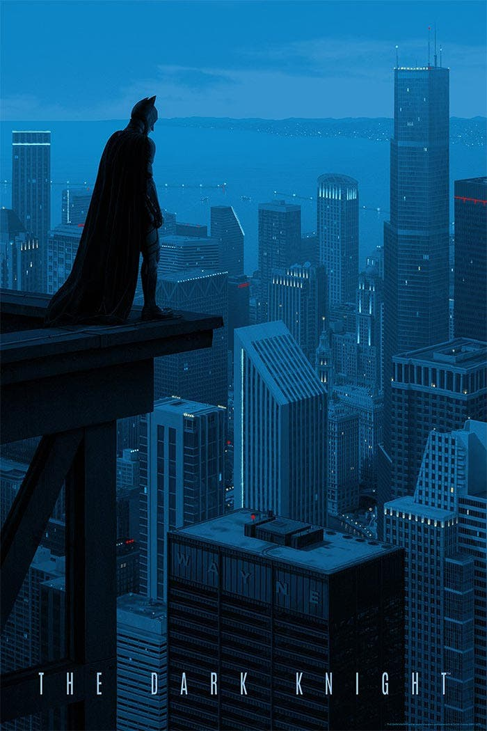 El Caballero Oscuro (fan art)